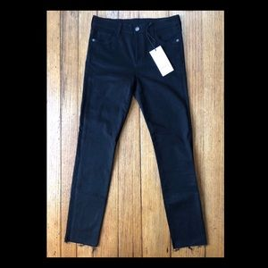 Gucci Panther Embroidered Black Jean/ Size 27